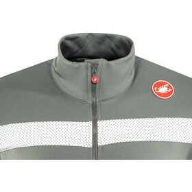 Castelli Puro 3 Full Zip Jersey Men forest gray günstig kaufen ... 595e83df7